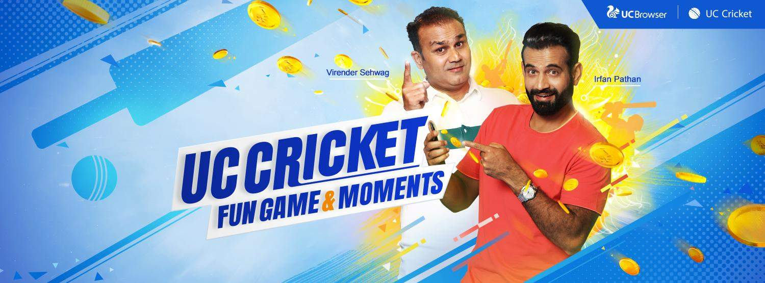 Virendra Sehwag and Irfan Pathan to be UC Cricket Captains