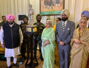 CAPT AMARINDER HOSTS 2 SIKH TO MARK 100 YEARS OF PATIALA FAMILY'S ASSOCIATION WITH THE REGIMENT
